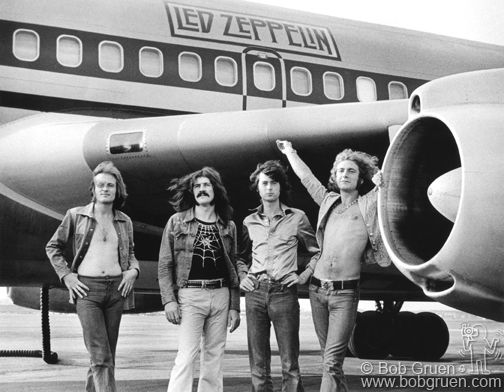 Led Zeppelin Photo by Bob Gruen