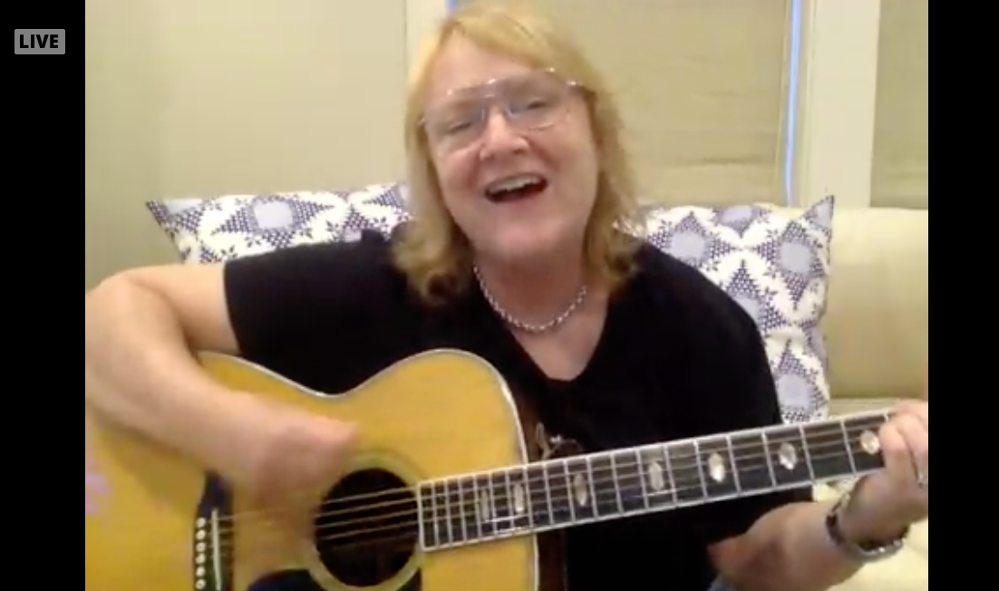 Emily Sailers of the Indigo Girls Performing Live for Shut In & Sing