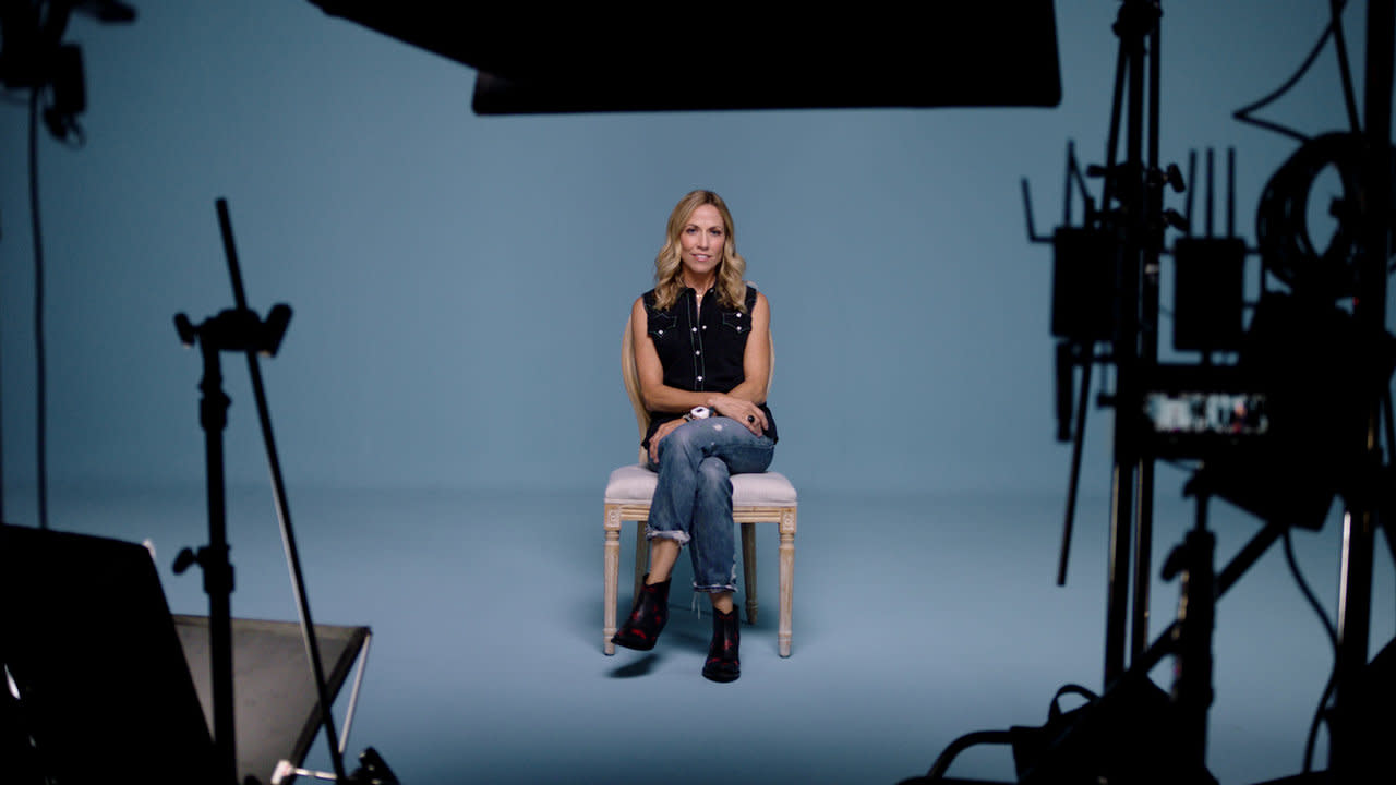 Sheryl Crow on set for Spotify For Artists