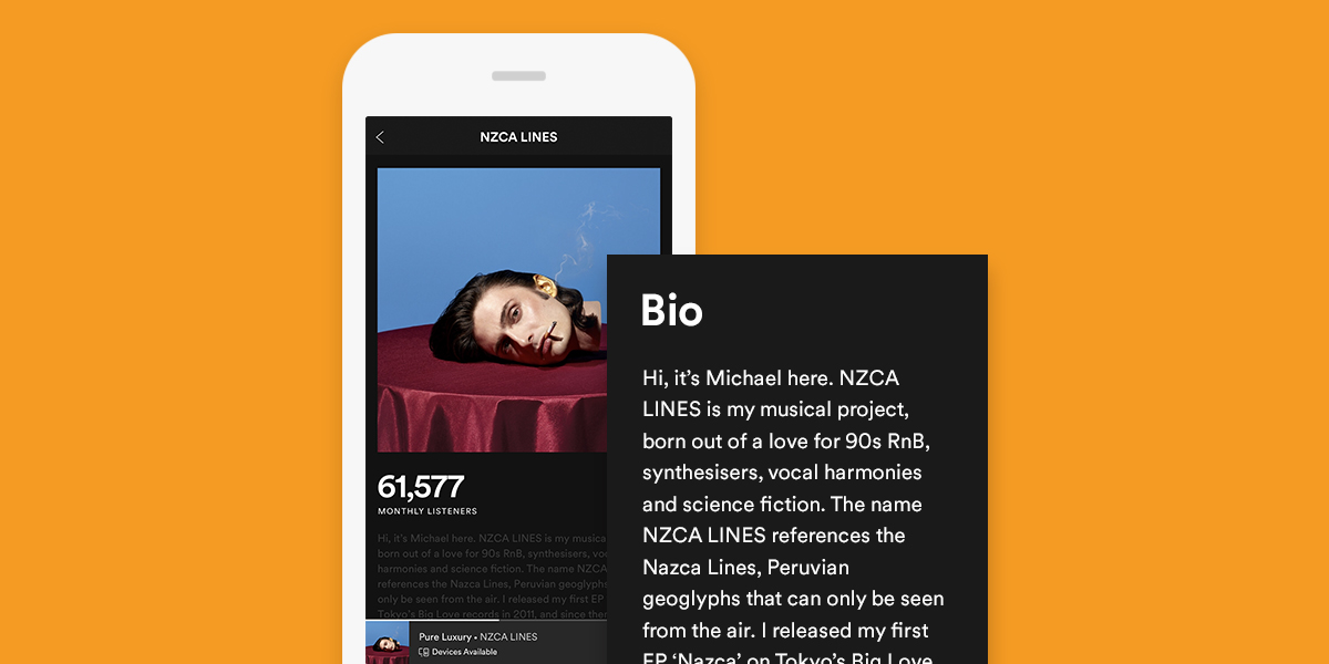 The Do's and Don'ts of Writing Your Spotify Bio – News – Spotify for Artists