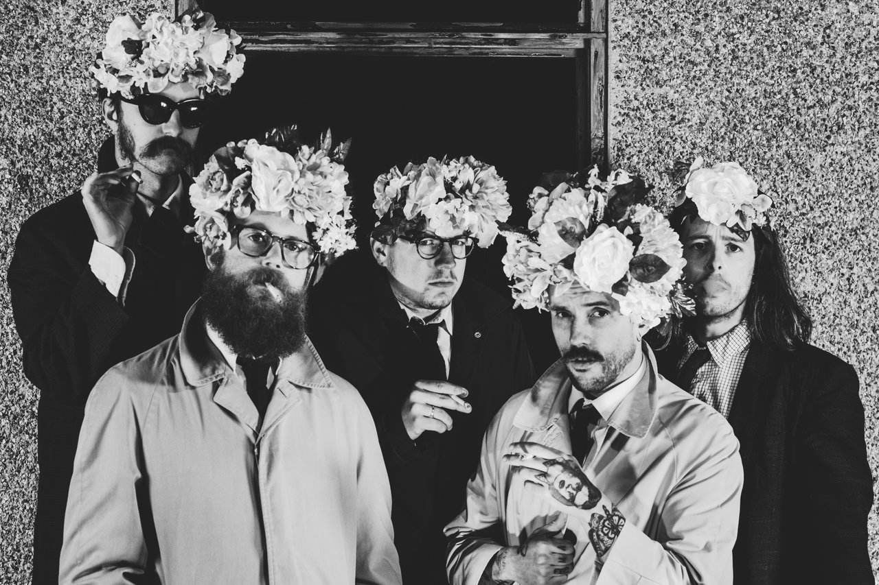 IDLES, Photo by Tom Ham