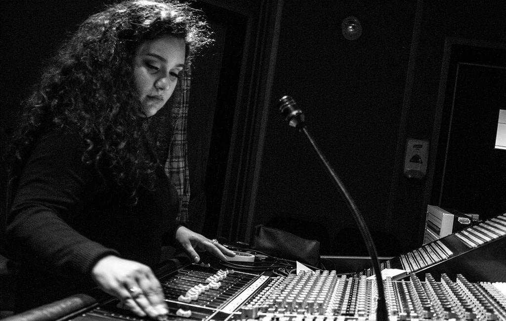 Alissa Faratro, Vocal Producer and Engineer from Montreal, Photo by Matias Vera Pinto