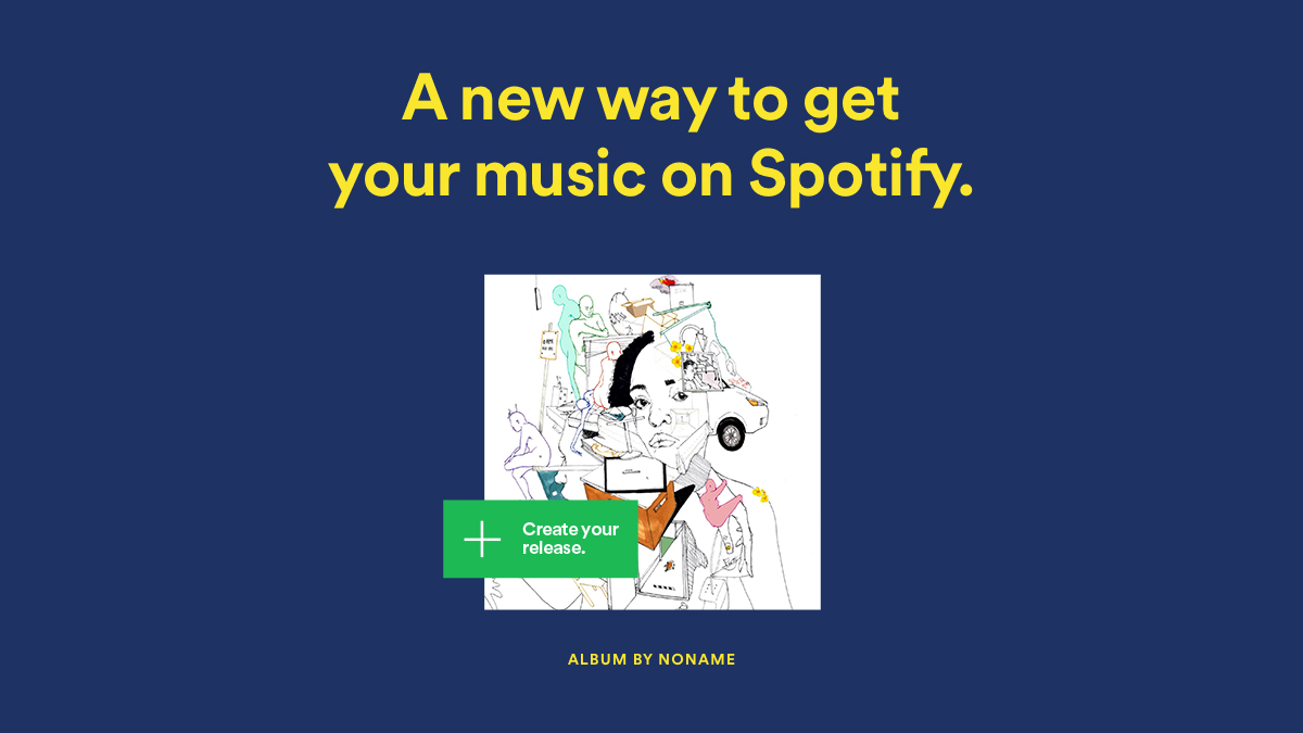 upload music on spotify for free