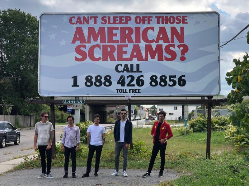 Arkells Billboard Photo