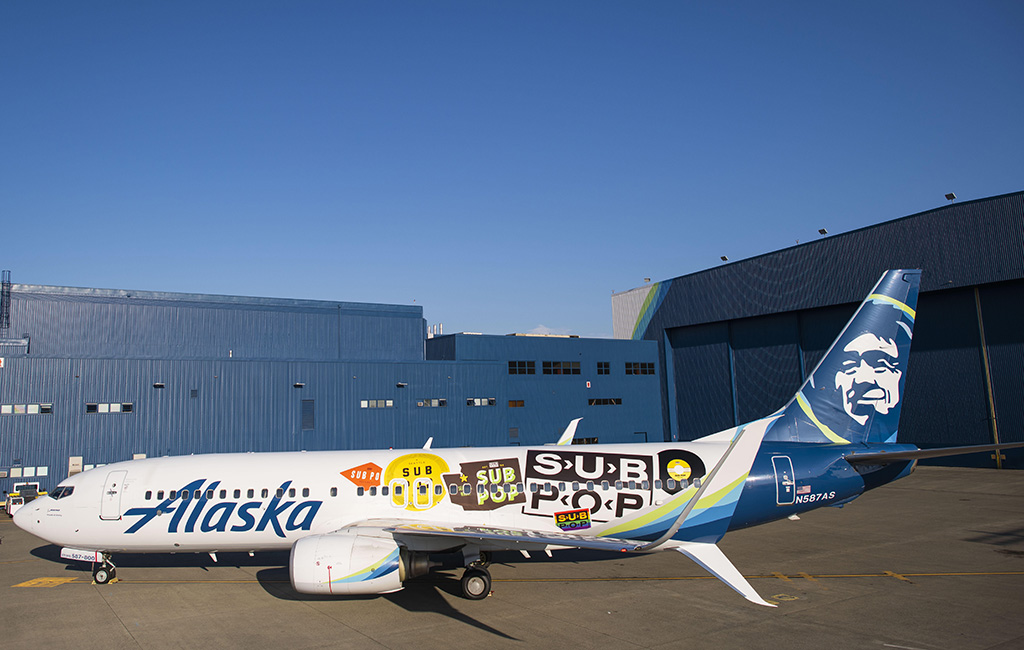 Sub Pop Airplane Photo