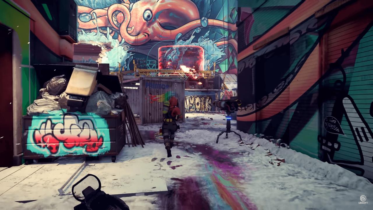 Screen z rozgrywki Xdefiants f2p shootera od Ubisoftu