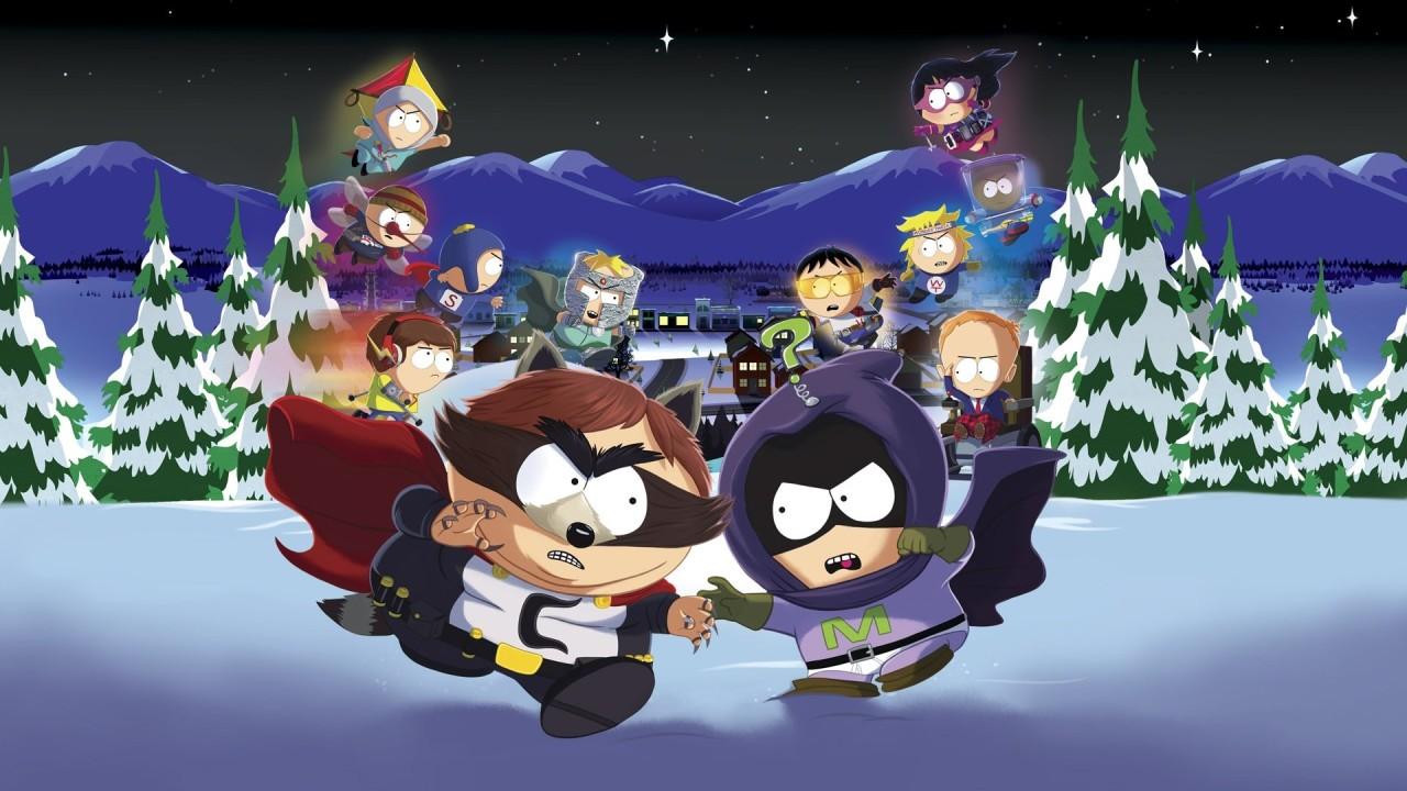 Nowa gra South Park 3 – screen z gry pokazujący głównych bohaterów animacji