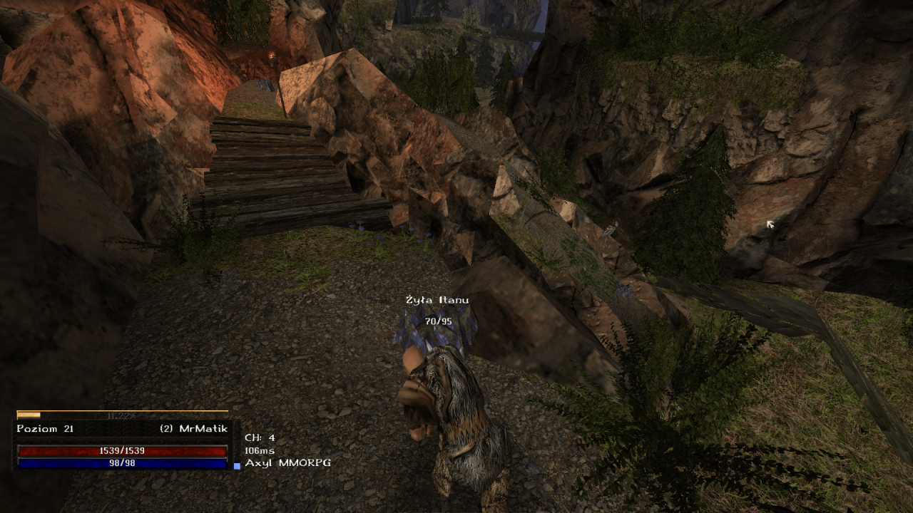 Gothic Online serwer MMORPG Axyl kopanie itanu dodatkowa aktywność