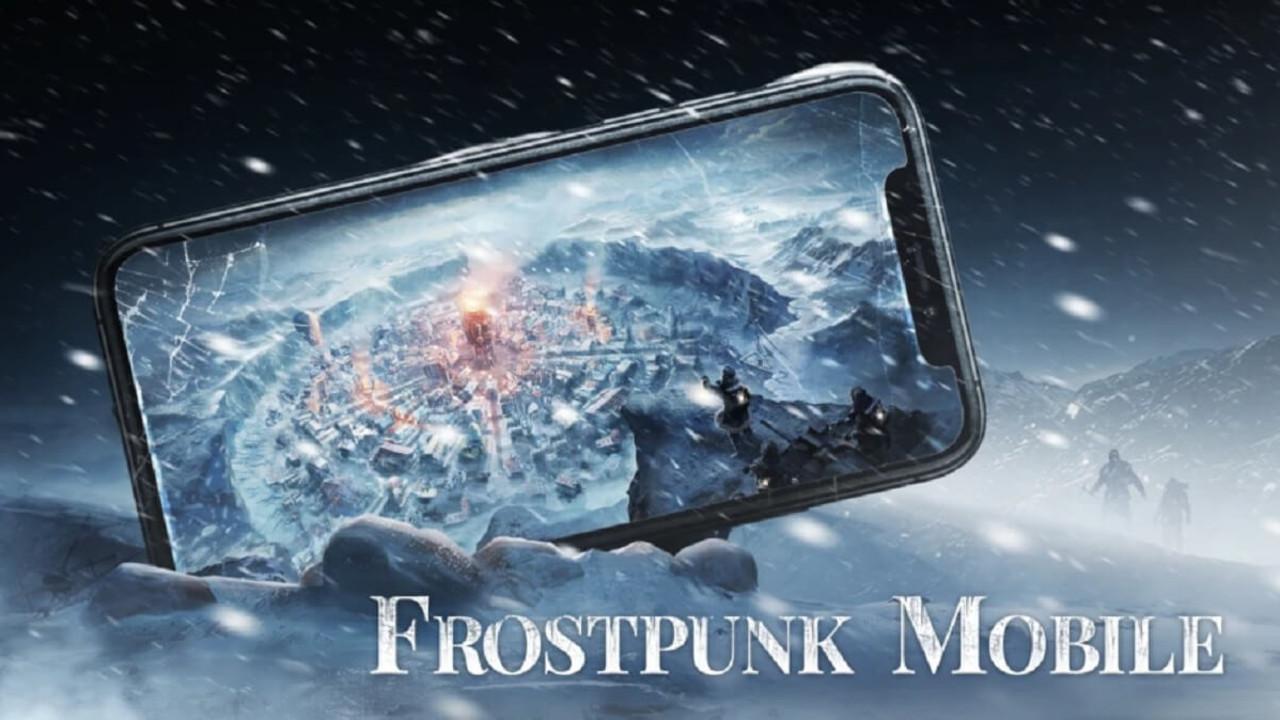 Screen z dobrej gry na telefon frostpunk mobile