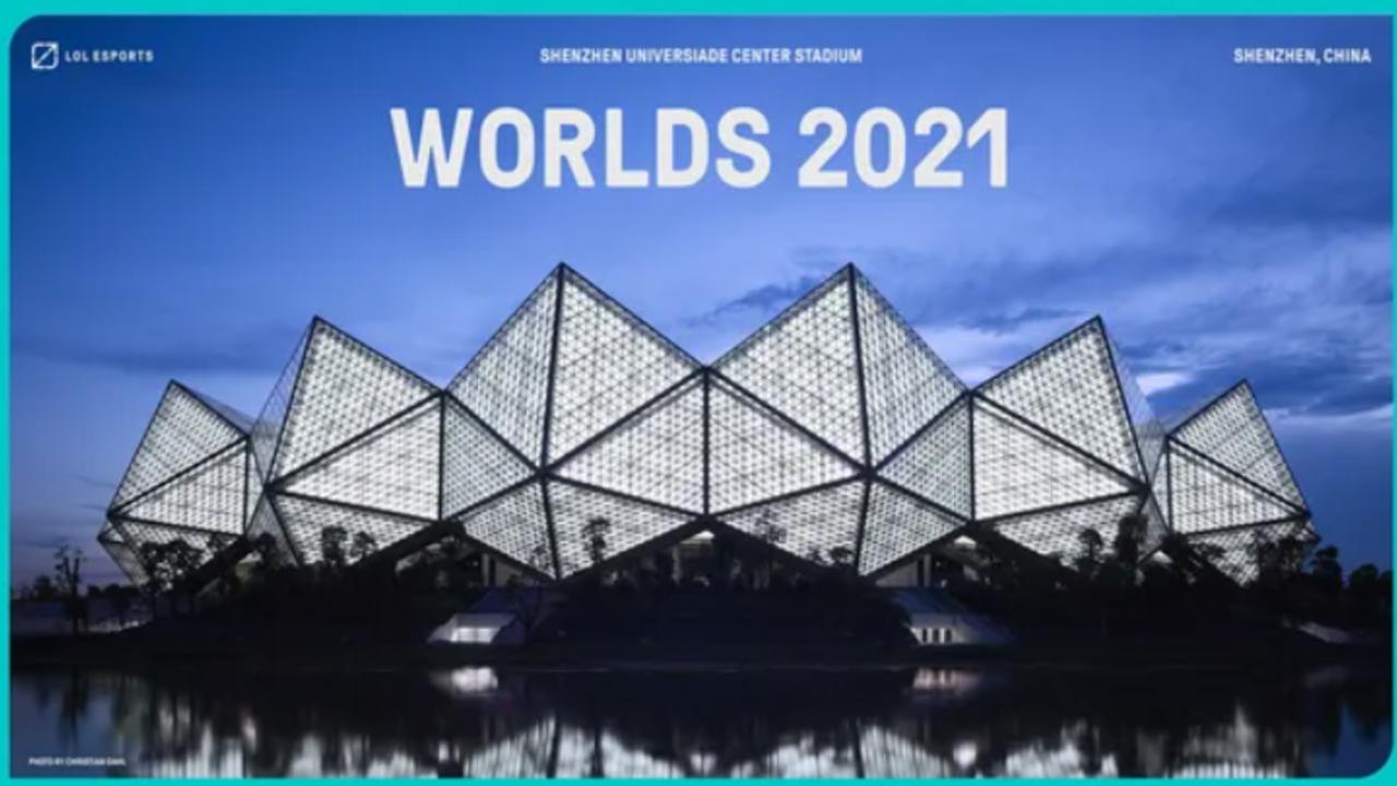 Chiński kompleks, w którym miał odbyć się turniej Worlds 2021 w League of Legends