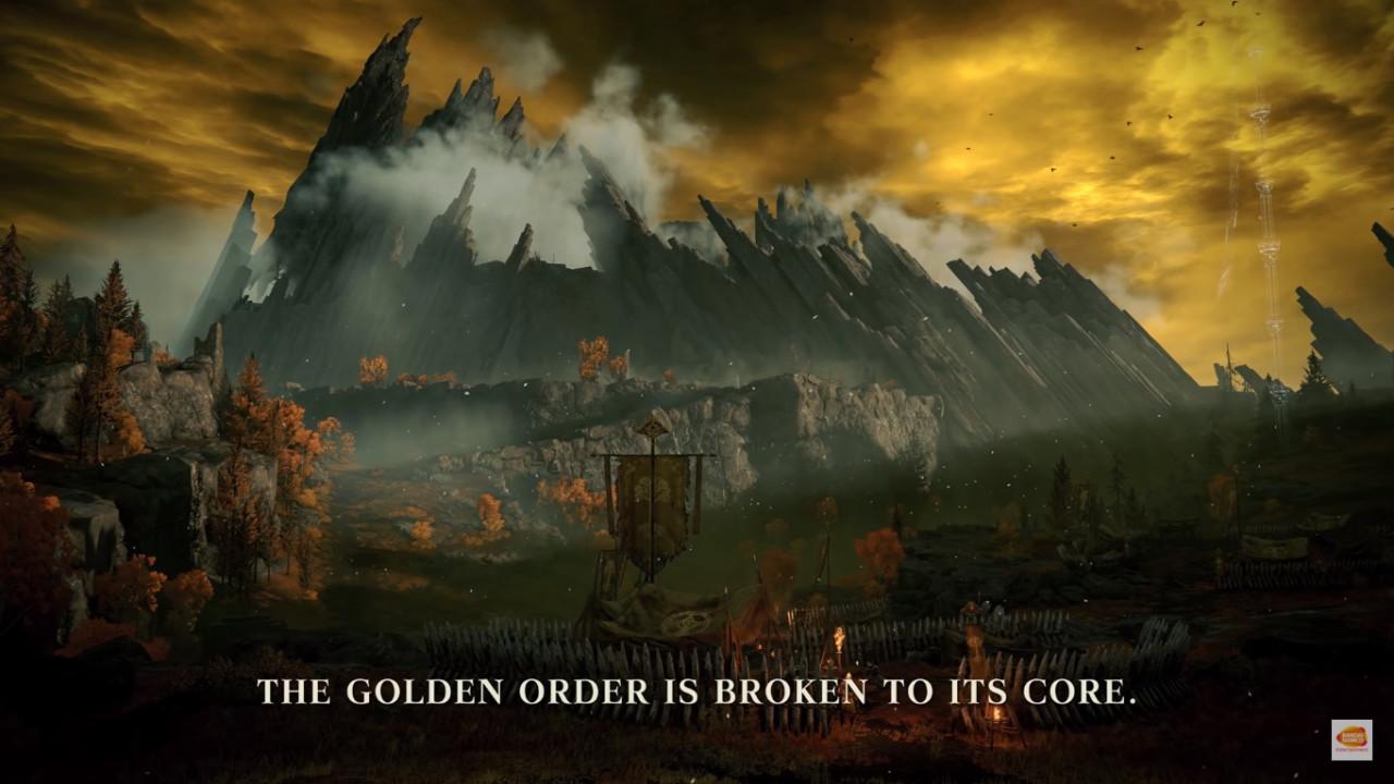 Elden Ring mroczna lokacja fantasy
