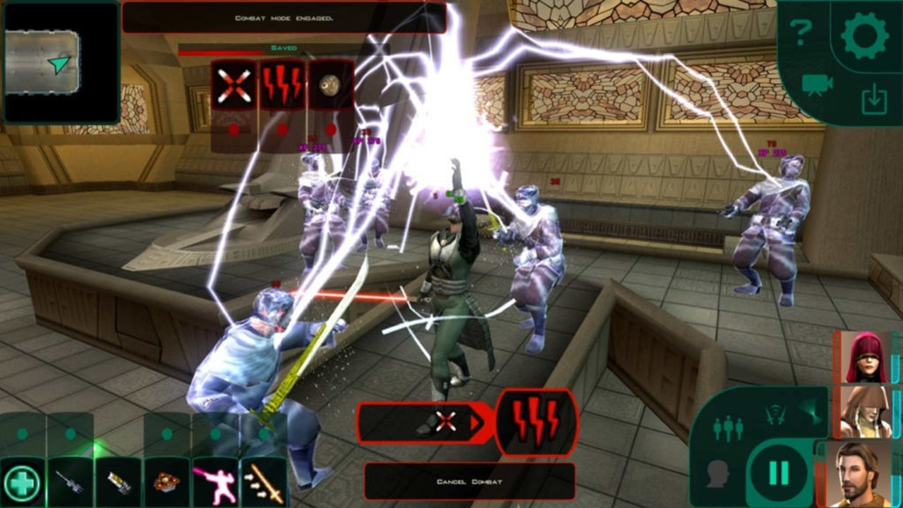 Star Wars Gwiezdne Wojny Kotor RPG na Android