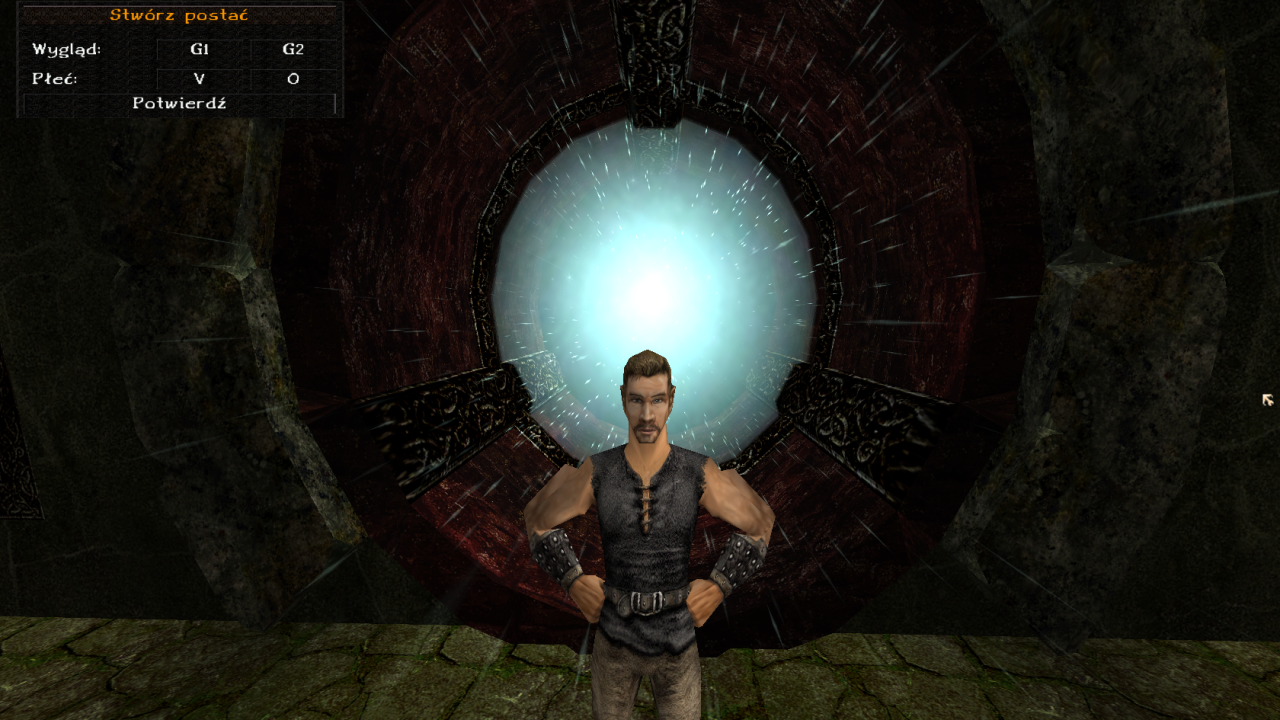 tworzenie postaci w Axyl MMORPG na platformie Gothic Online