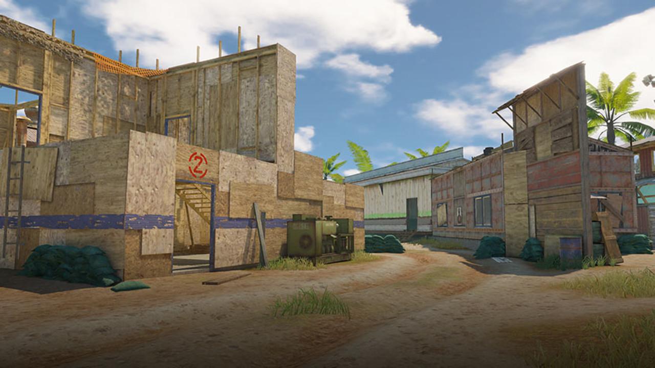 firing range mapa cod bo