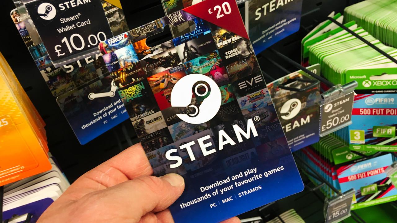 Karta podarunkowa Steam