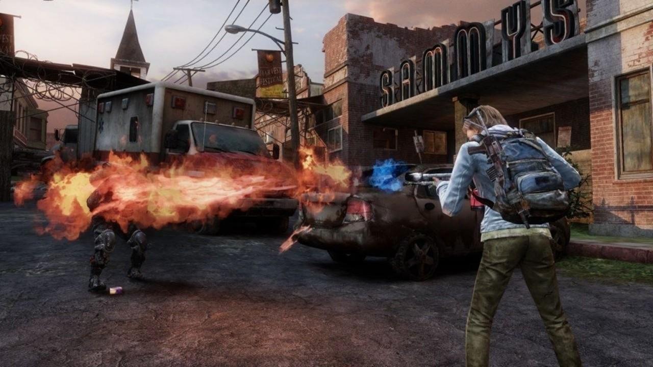 Screen z wieloosobowego trybu frakcji w The Last of Us