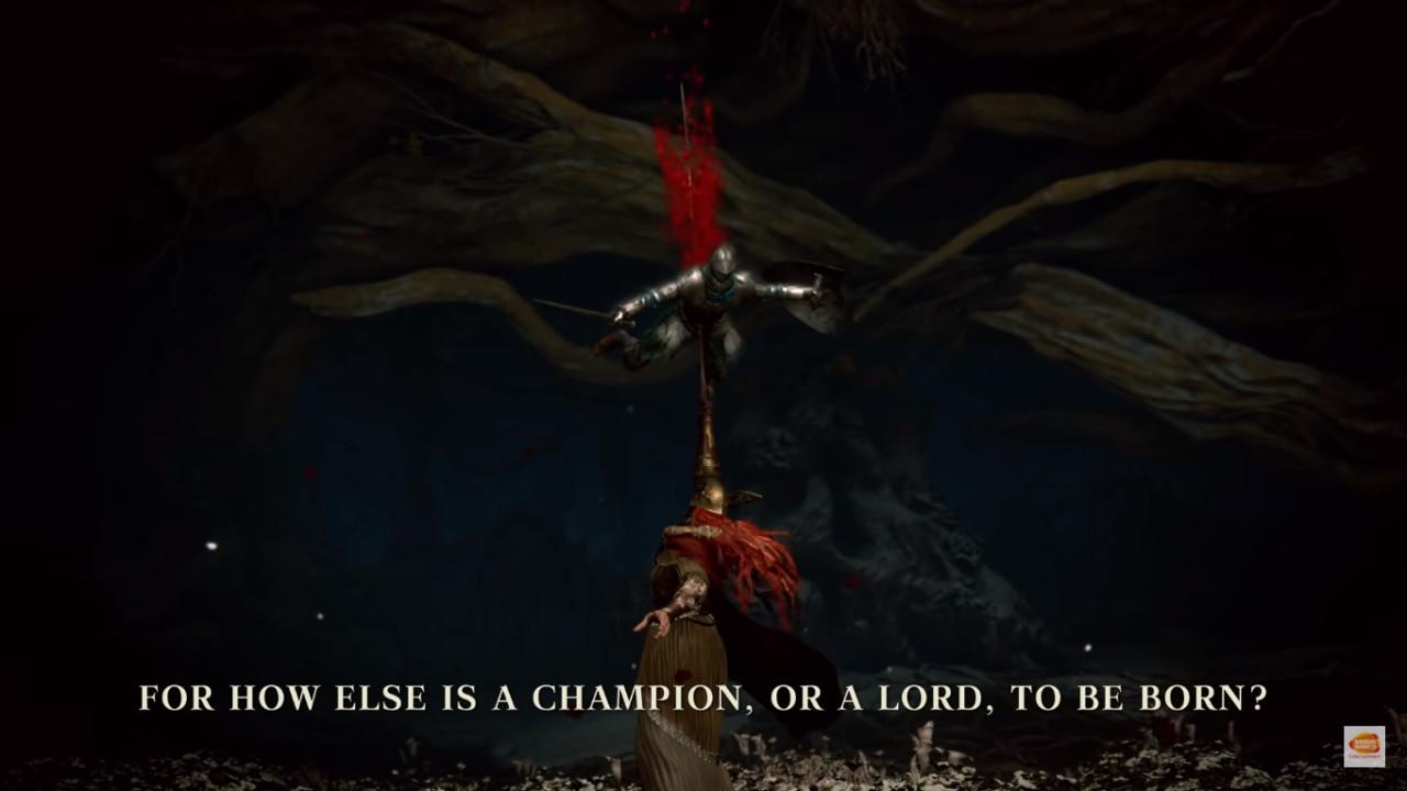 Grafika z gameplayu Elden Ring od From Software