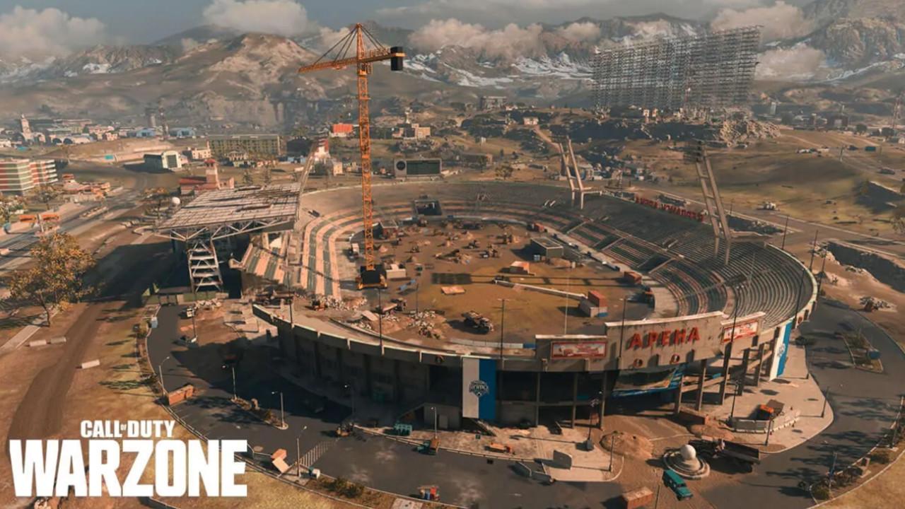 Warzone nowa mapa i stadion z 1984