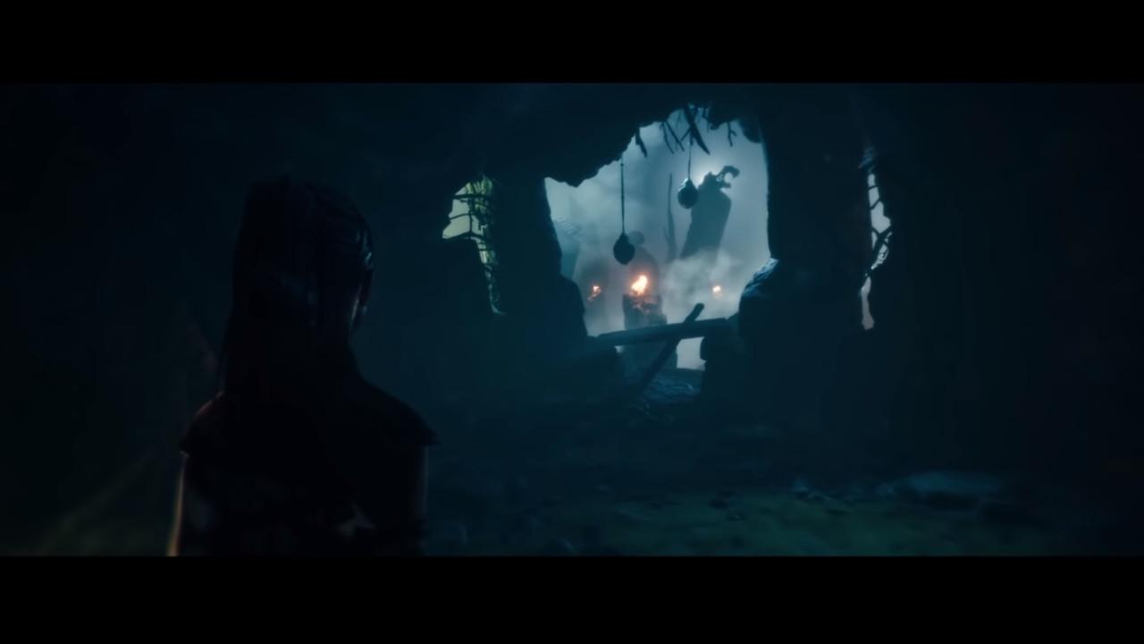 Screen z filmu o tworzeniu hellblade: Senua's Sacrifice 2