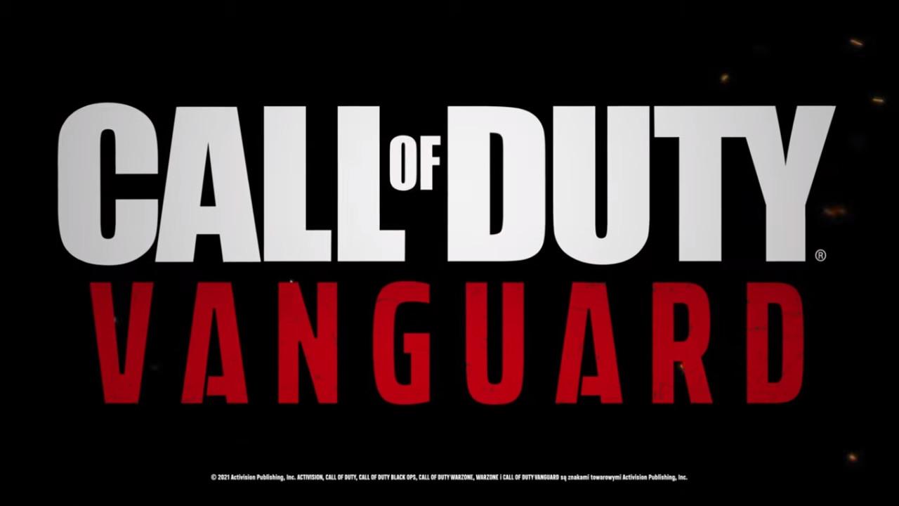 call of duty vanguard logo 2021