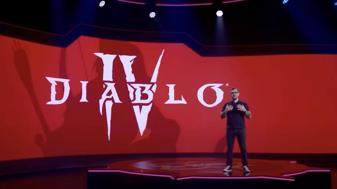Zapowiedź Diablo IV podczas BlizzConu