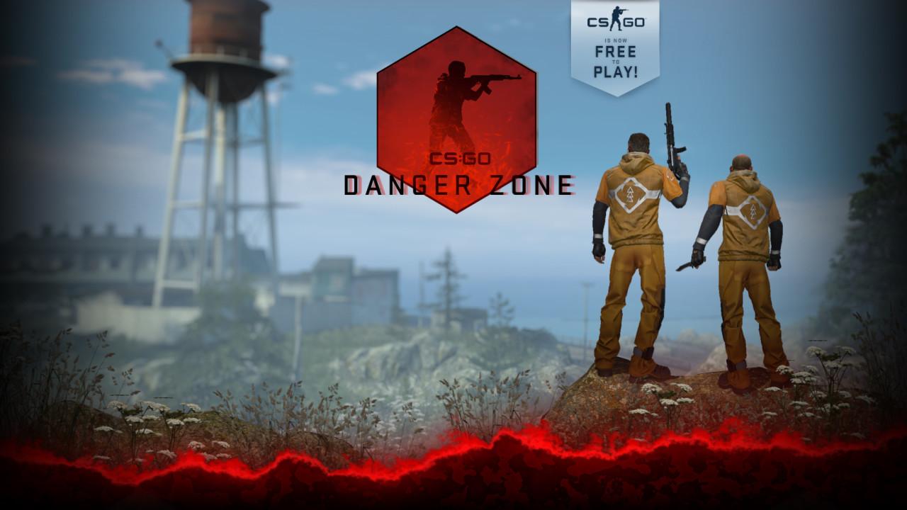 Grafika z darmowego battle royale CS GO strefa zagrożenia