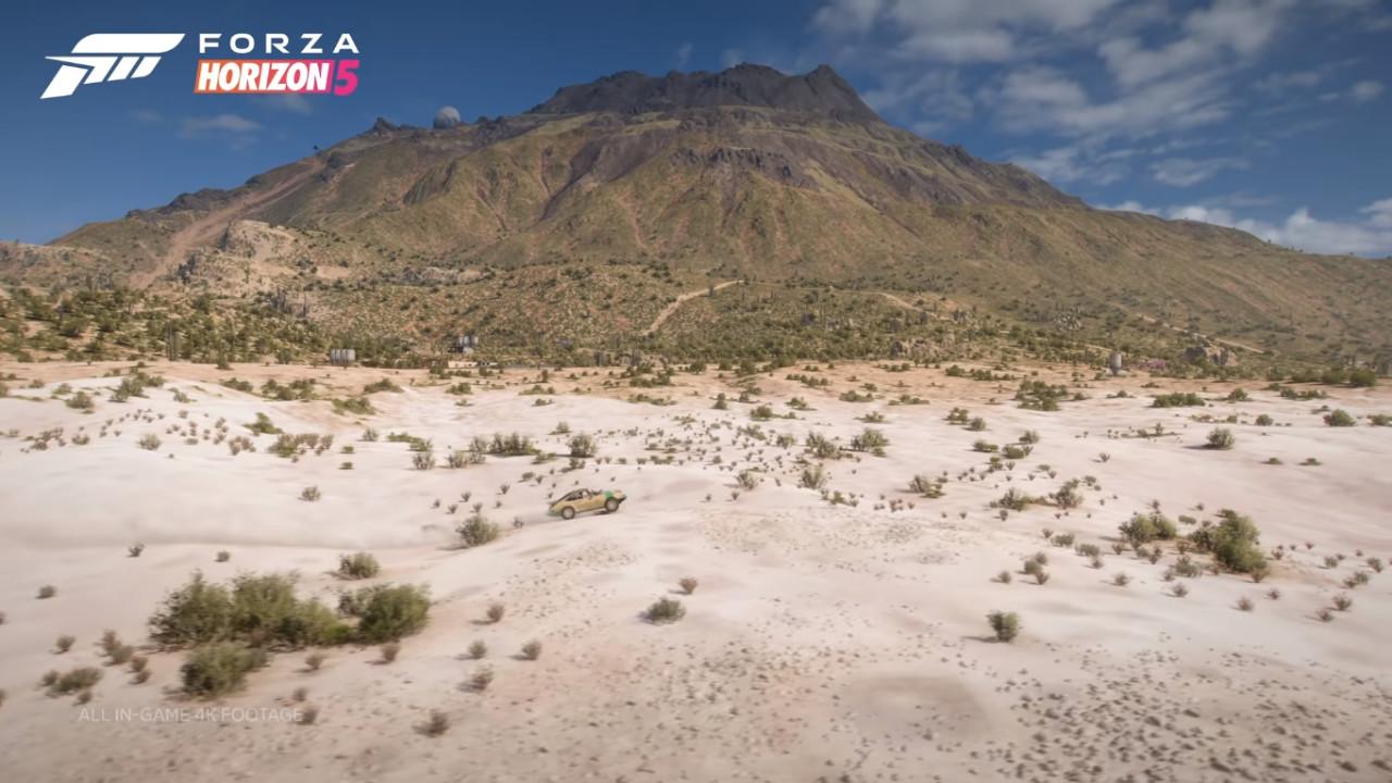 Forza Horizon 5 najwyższy punkt w grze góra