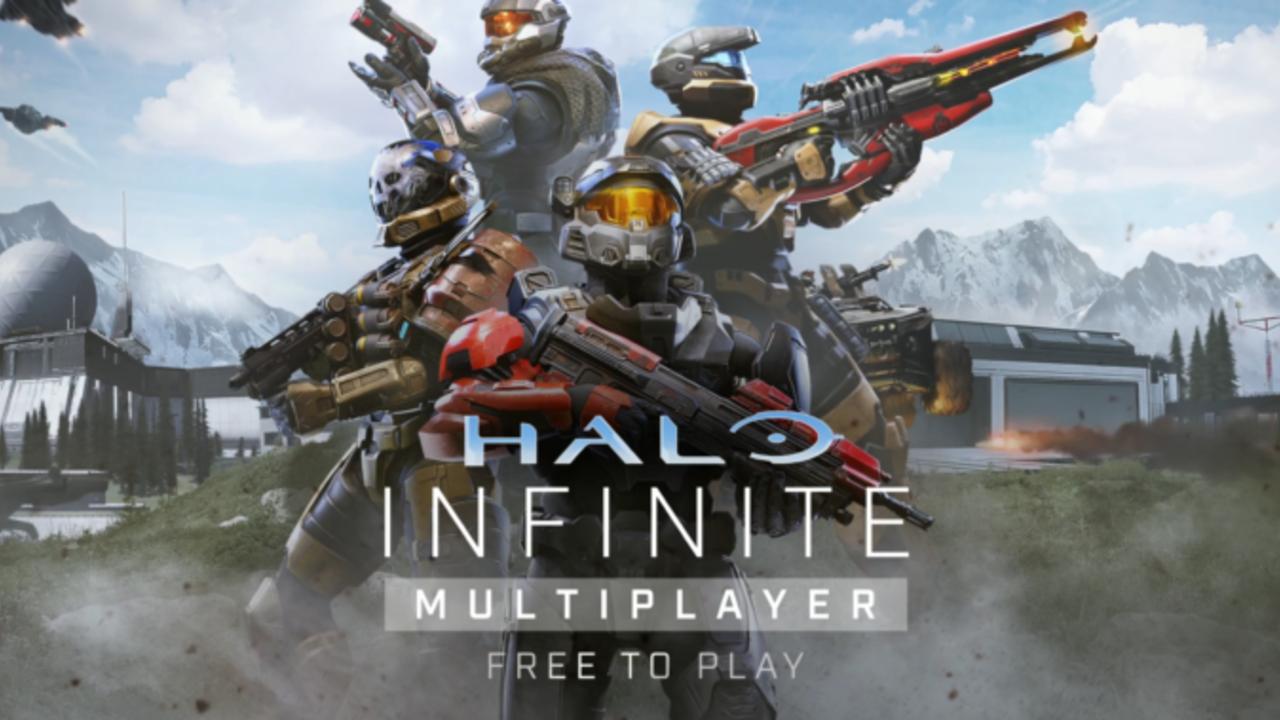 Infografika z Halo Infinite f2p multi