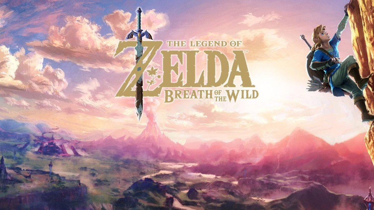 Grafika prezentująca grę Zelda na Nintendo Switch Oled