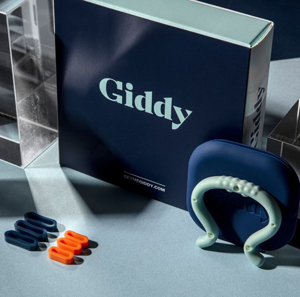 Giddy men's constriction device