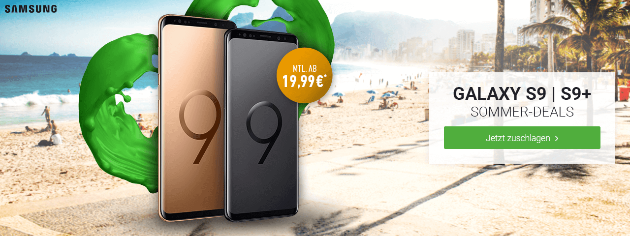 Aktion: Samsung Galaxy Sommer-Deals