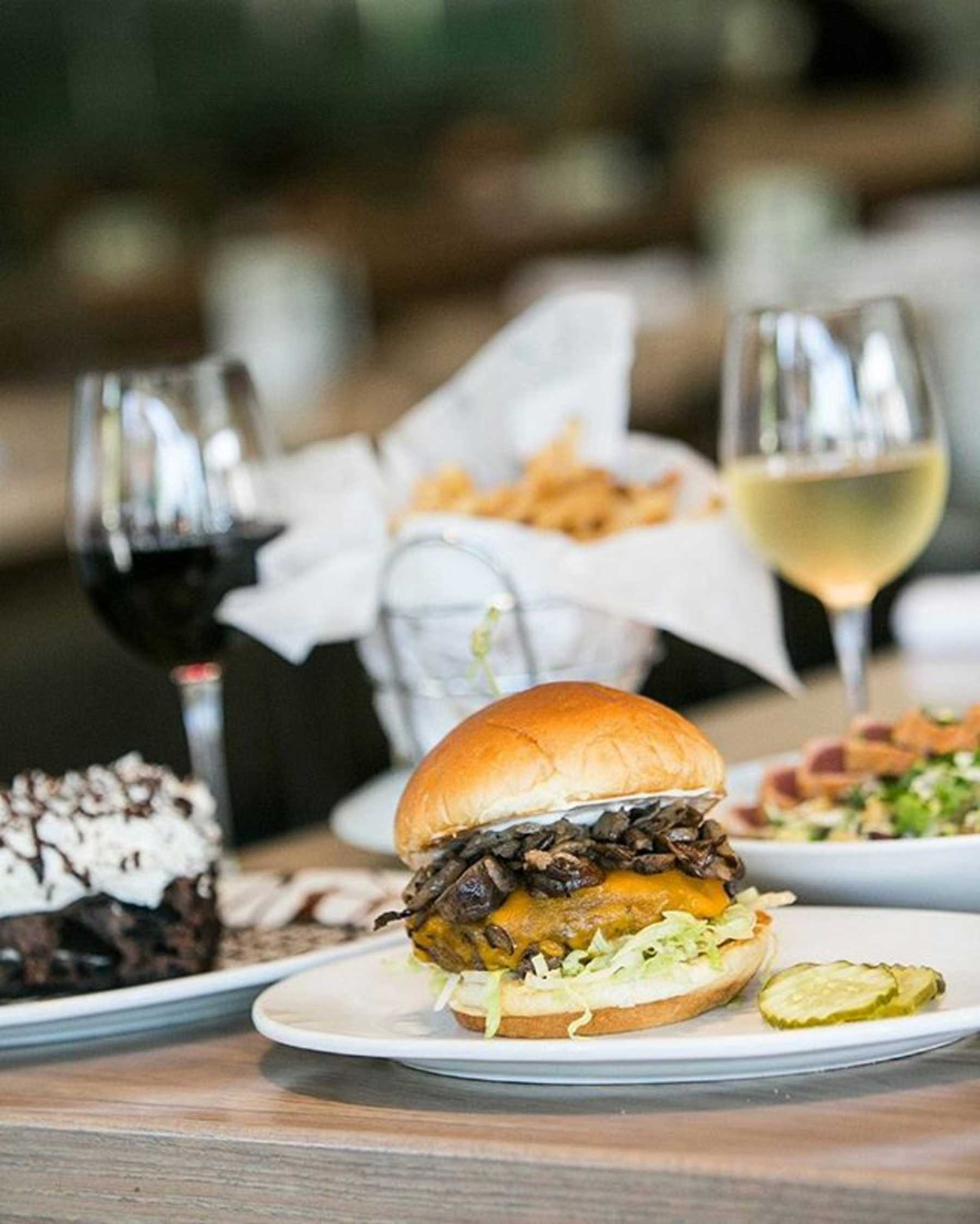 Zinburger Wine and Burger Bar Happy Hour Atlanta