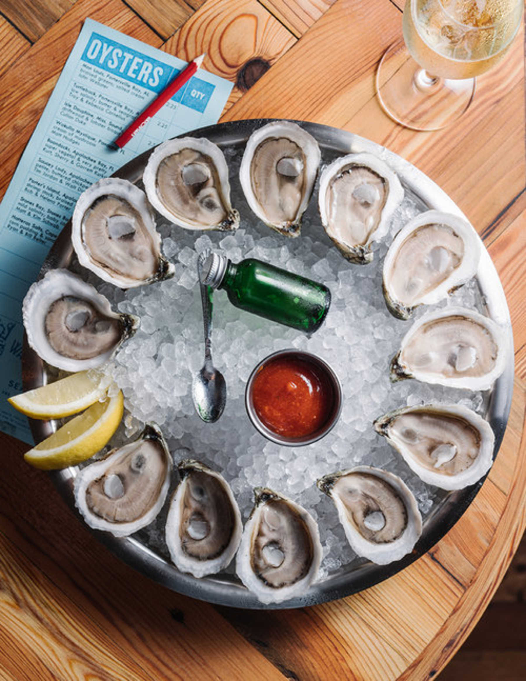 Watchman's Seafood and Spirits Happy Hour Atlanta