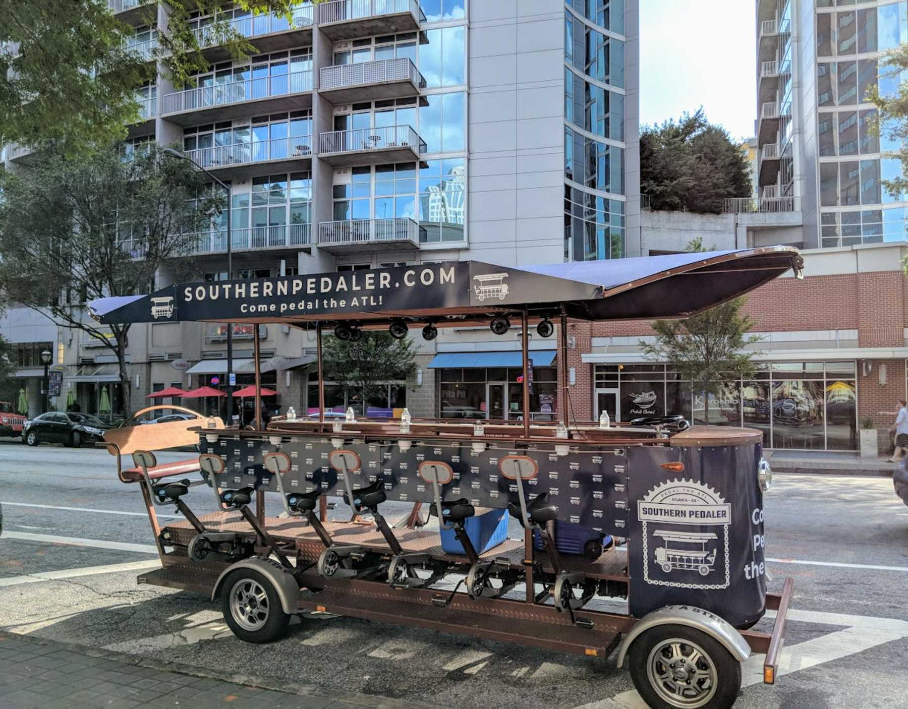 Atlanta's Only Pedal Tavern: Southern Pedaler