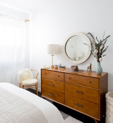 Dresser in a room