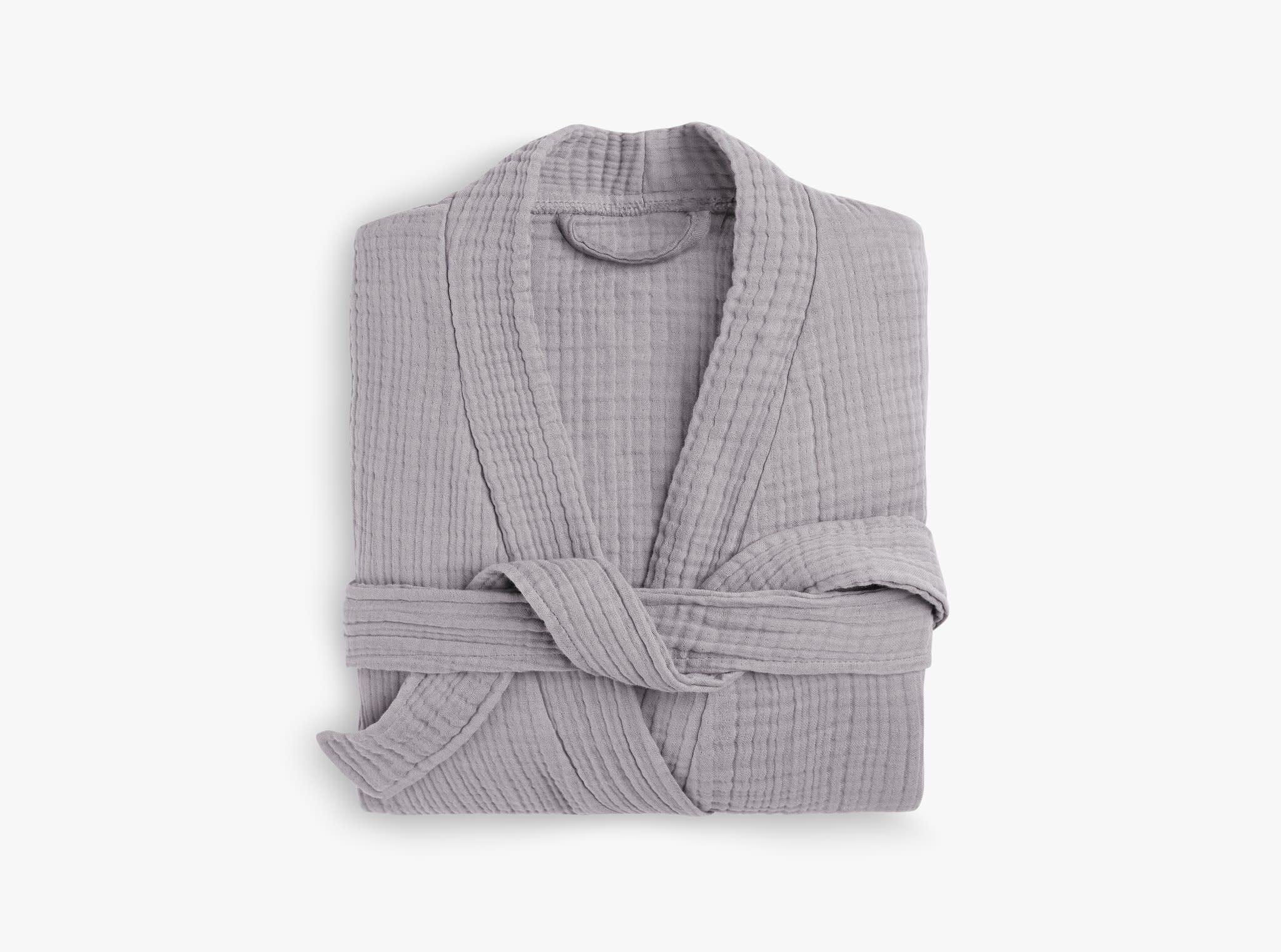 Grey Cloud Cotton Robe Parachute