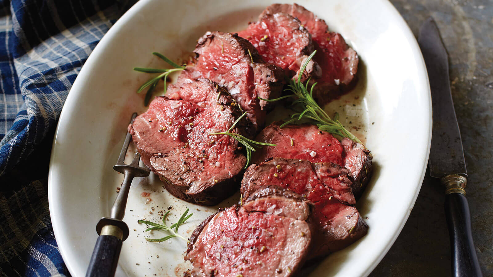 Beef Tenderloin with Shiraz Marinade