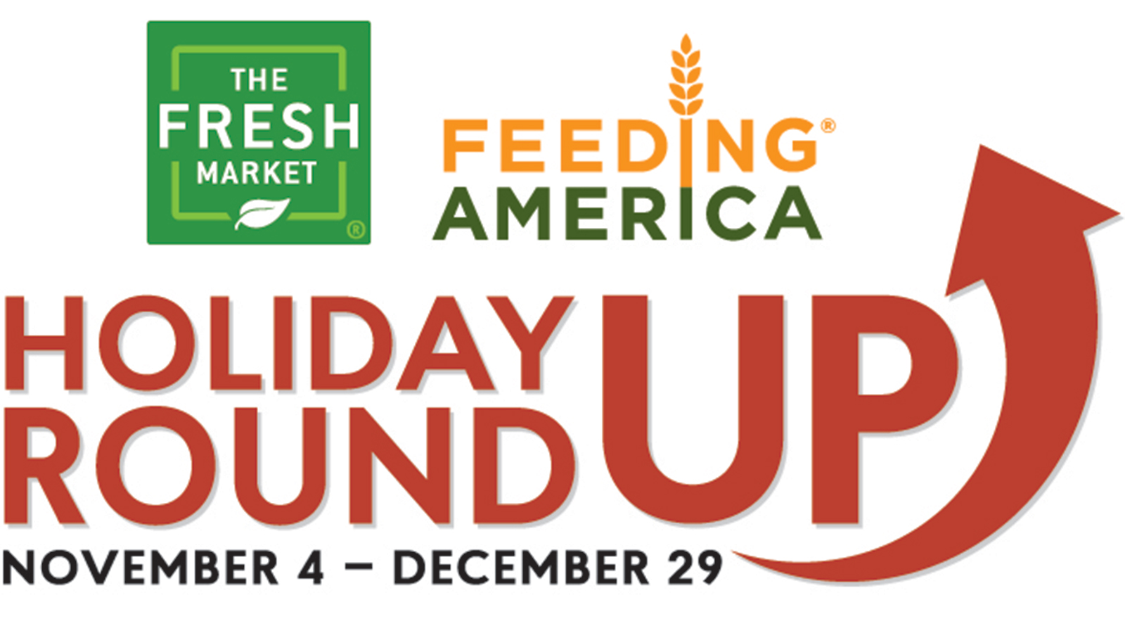 The Fresh Market Round Up logo