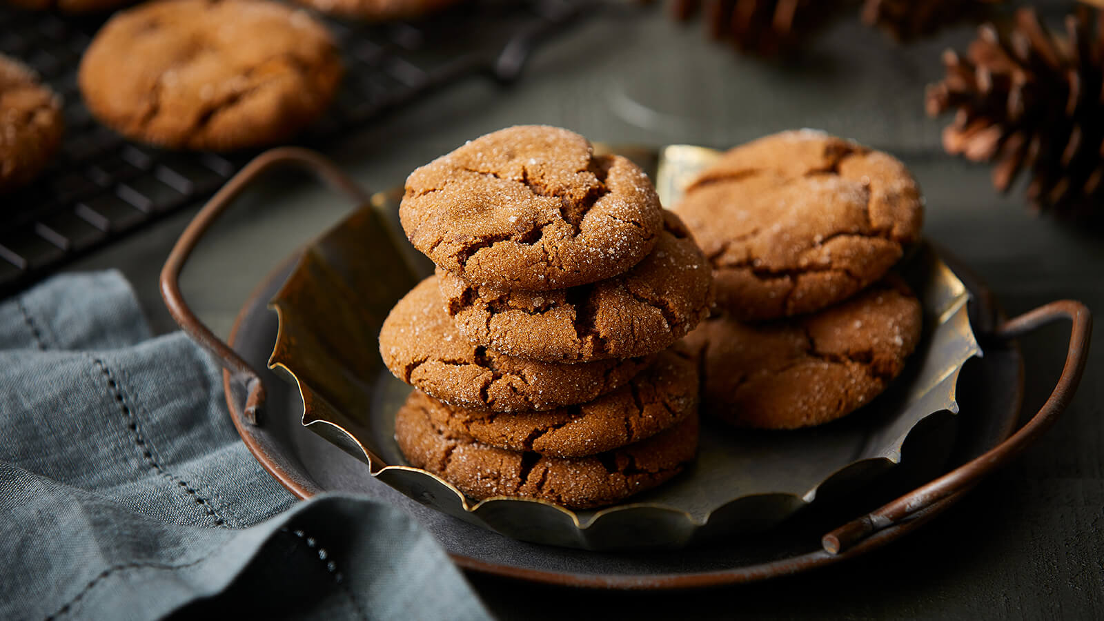 Triple Ginger Chocolate Chip Cookies