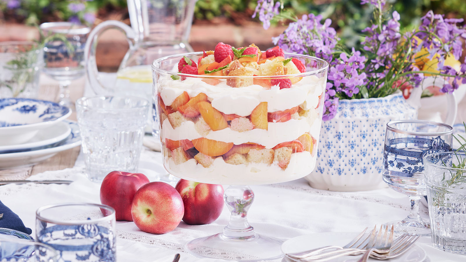 honey roasted trifle