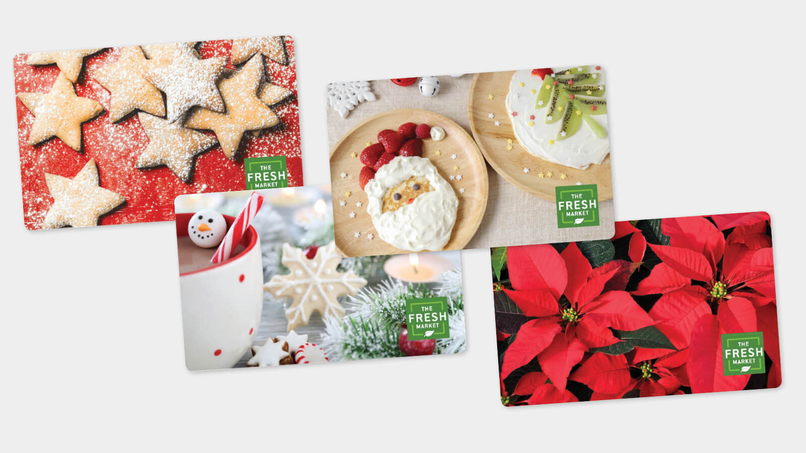 Holiday Gift Cards Available from The Fresh Market Near You