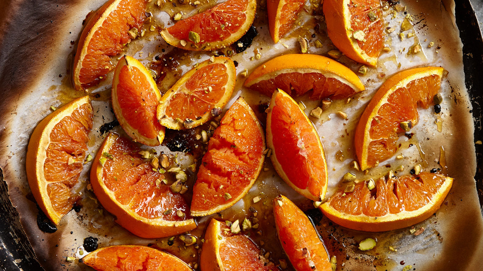 roasted-cara-cara-oranges-with-honey-and-pistachios