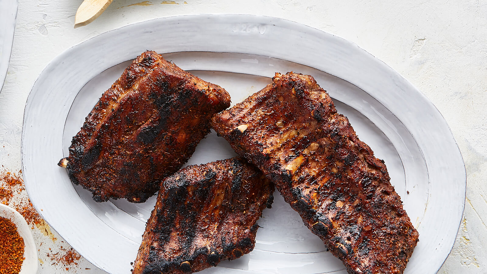 Oven Baked Dry Rub Ribs