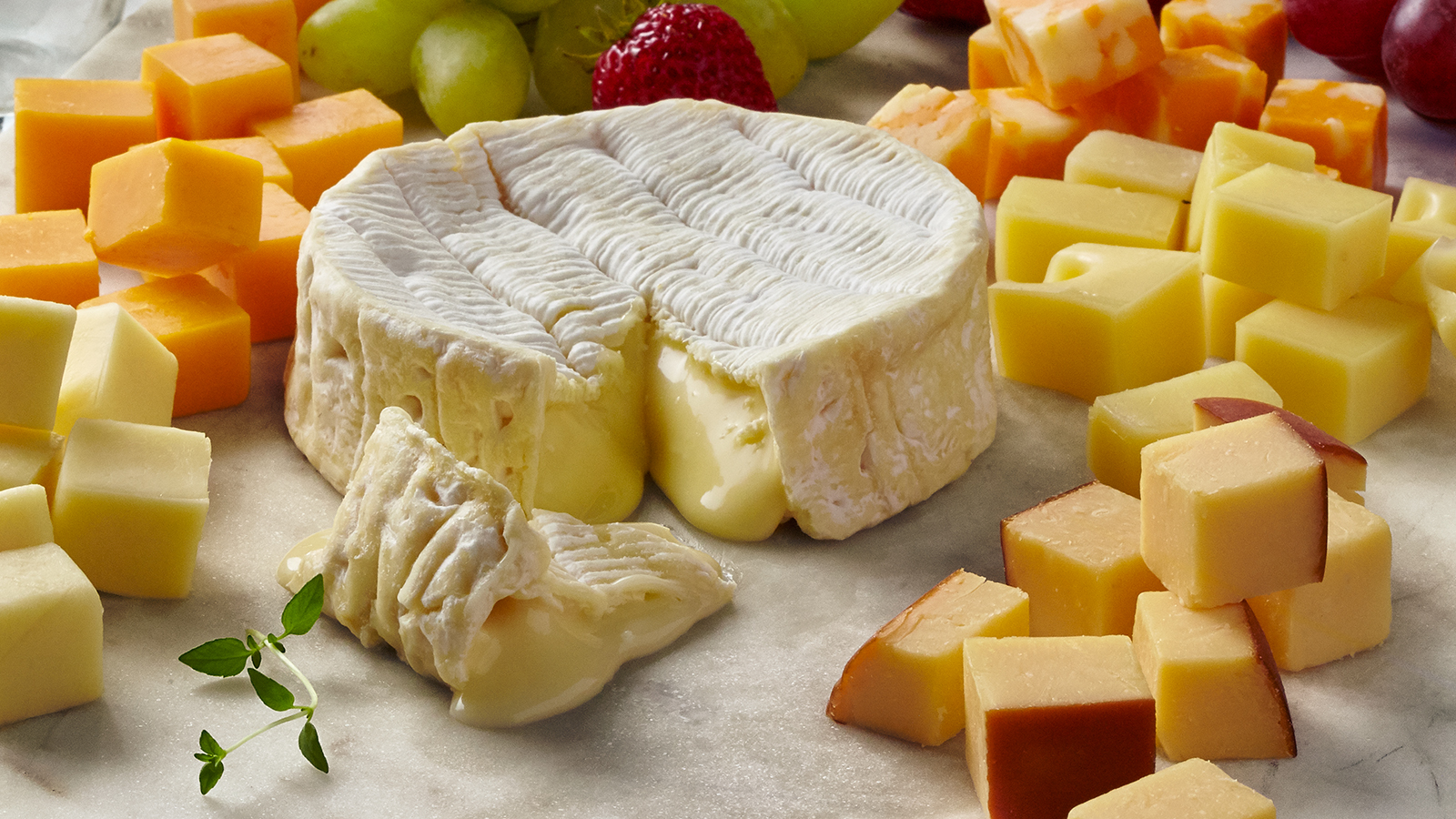 Classic Fruit & Cheese