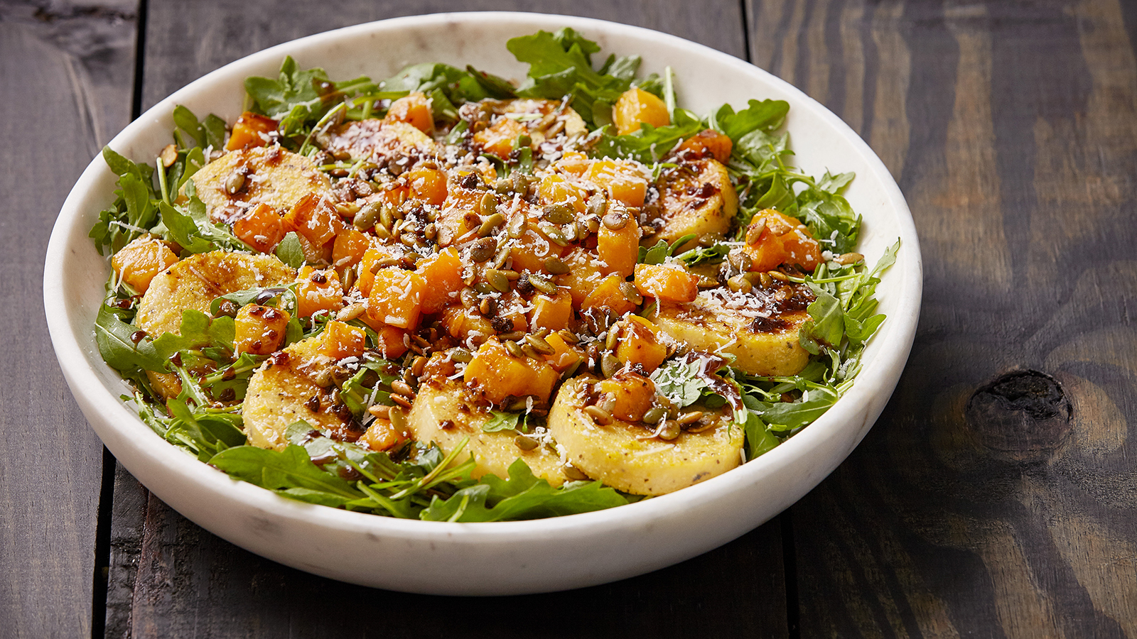 Honey Roasted Butternut Squash Salad