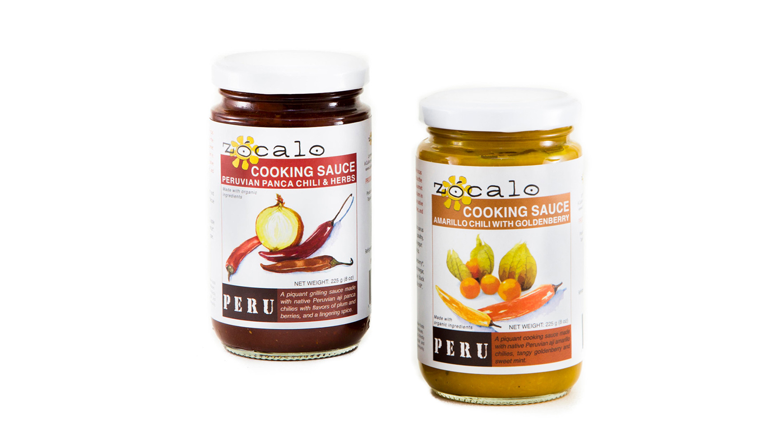 Zocalo Peru Cooking Sauce and Chili Paste