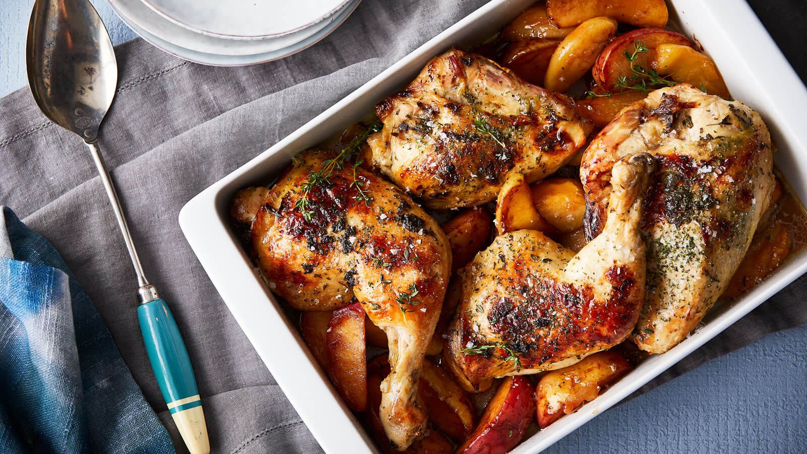 baked-chicken-with-cinnamon-apples