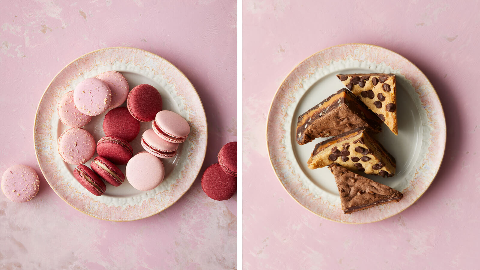 Macarons + Killer Brownies