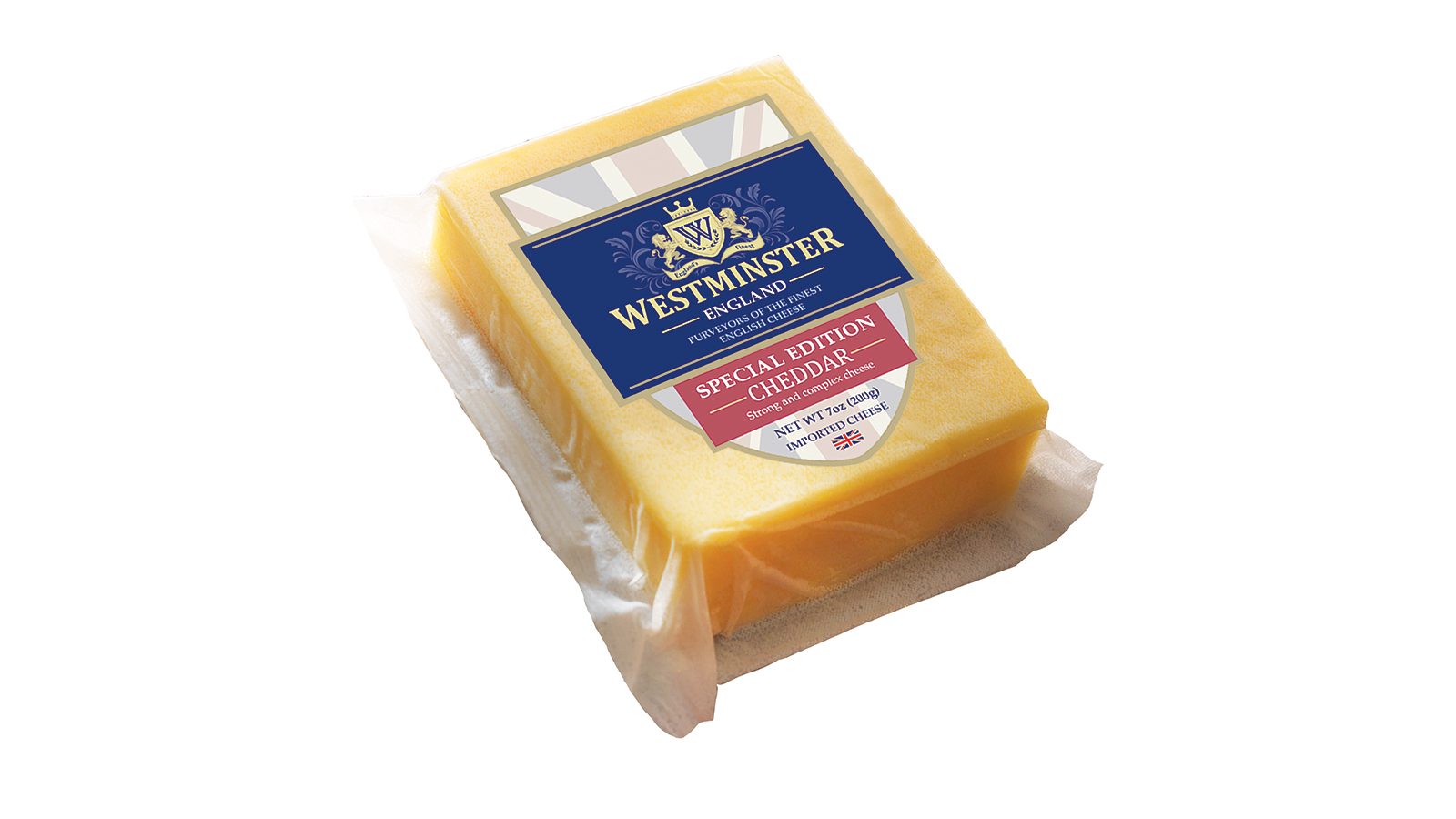 Westminster cheddar cheese