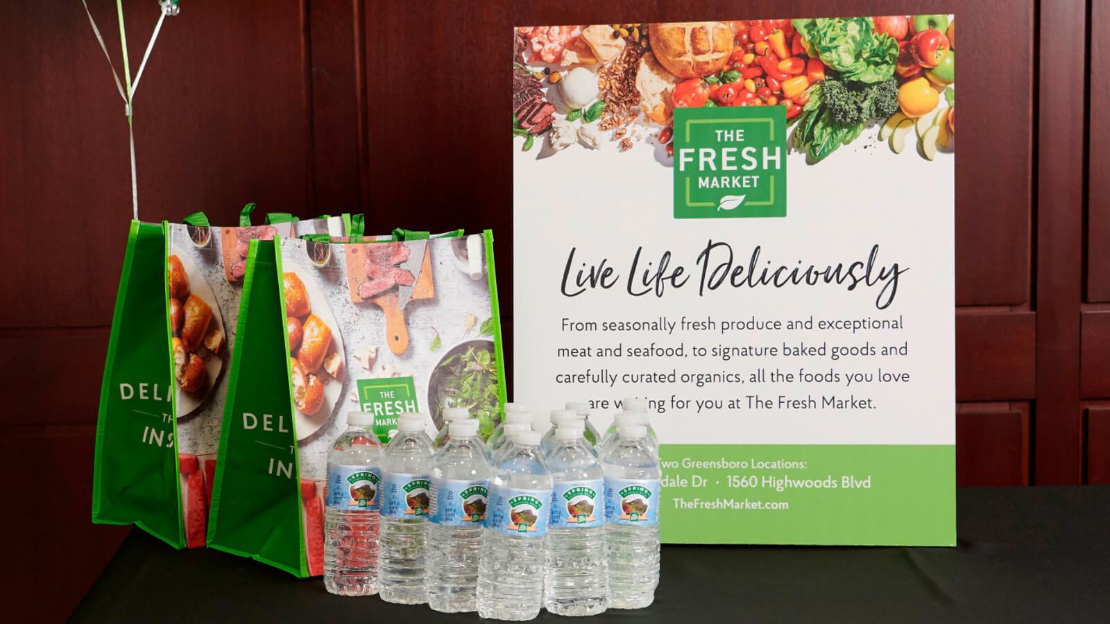 Supporting Our Community - The Fresh Market
